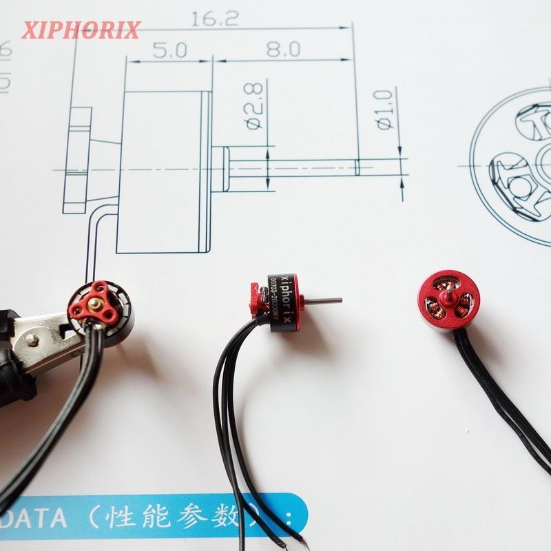 Picture of 1.9g micro outrunner brushless motor D0703 20000KV