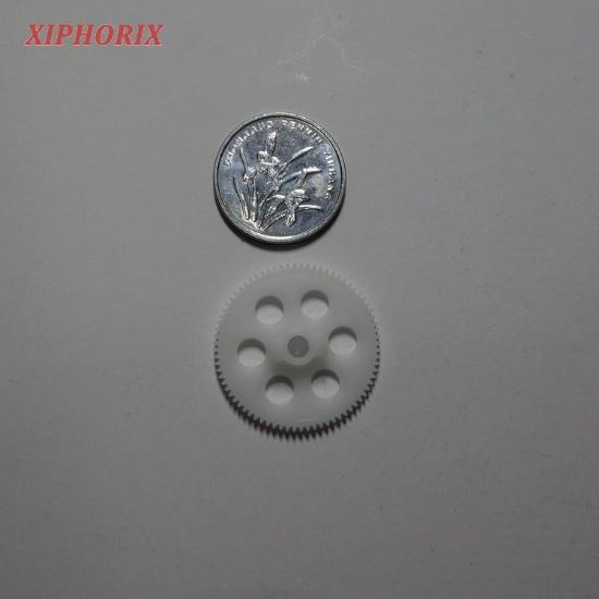 Picture of M0.3 76 tooth plastic gear