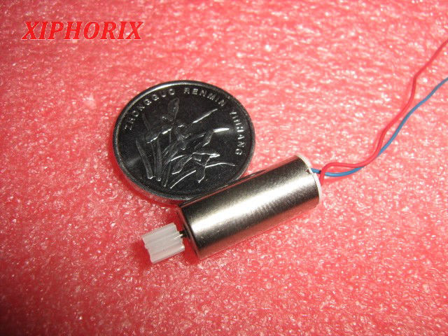 Picture of Module 0.3 10 teeth plastic pinion fit 1.0mm shaft of motor