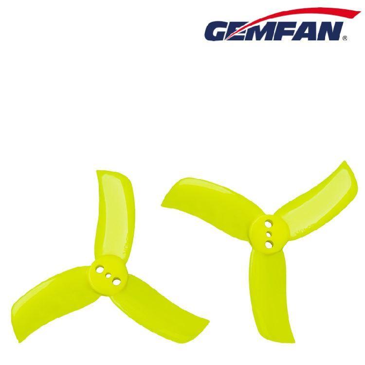 图片 乾丰(GEMFAN)HULKIE 2040 2寸 53mm 三叶 正反桨 正反螺旋桨